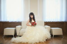 Custom Wedding Dresses that are Made to your Measurements by Multi Award Winning Bridal Salon in NJ. Specializing in Plus Sizes, Gothic, Red, Black and Unique Wedding Dresses. Pale Yellow Weddings, Yellow Wedding Dress, Custom Wedding Dress, Modest Wedding Dresses, Yellow Dress, Bridal Salon, Unique Weddings, Flower Girl Dresses, Wedding Photography