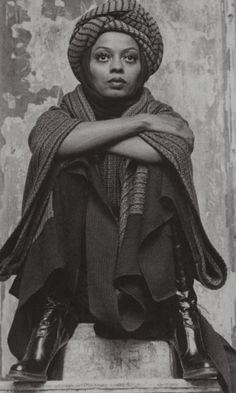 Diana Ross in Mahogany (1975).                                                                                                                                                                                 More