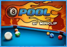 8 Ball Pool unblocked Flash games Pinterest Coins