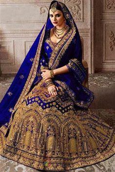 #lehenga #saree #lehengacholi #fashion #indianwedding #indianwear #ethnicwear #wedding #indianfashion #indianbride #bridallehenga #onlineshopping #kurti #lehengalove #bridalwear #weddingdress #designerlehenga #designer #lehengas #bridal #weddinglehenga Indian Lehenga, Lehenga Sari, Bollywood Lehenga, Blue Lehenga, Bollywood Wedding, Lehenga Choli Online, Bridal Lehenga Choli, Anarkali, Bollywood Style