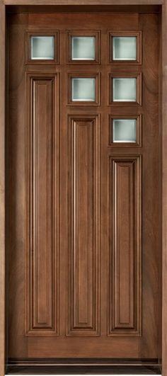 Exterior Doors Product | Custom Wood Frtont Entry Door