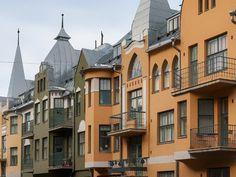 Houses in Eira - Helsinki Visit Helsinki, Scandinavian Countries, Alvar Aalto, Interesting History, Beautiful Buildings, Capital City, Europe, Old Town, Sliders