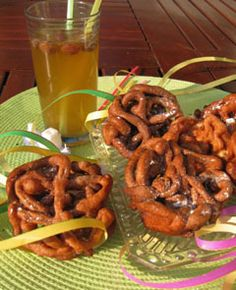 Tippaleipä & Sima / Pastry & Mead (Finland). Walburgis night / May day treats.