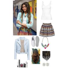 Zendaya Steal Her Style by skaiswagger on Polyvore featuring polyvore,  fashion, style, Fat