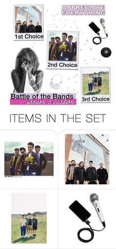 """""""battle of the bands s.3 audition"""" by tardismia ❤ liked on Polyvore featuring art"""