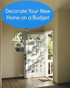 Furnishing Your New #Home on a #Budget