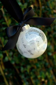 Holiday Ornaments: If you are planning a winter wedding, a first Christmas ornament together is a great little gift that you can hang on your tree each and every year.