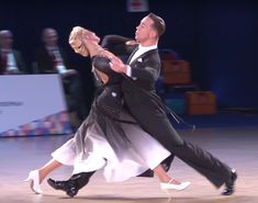 Simple and elegant ballroom dance dress