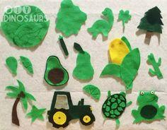 Green Week - Felt Board