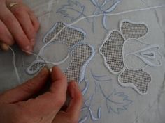 Hand Embroidery and Its Types - Embroidery Patterns Embroidery Hearts, Cutwork Embroidery, Embroidery Transfers, Hand Embroidery Designs, Embroidery Stitches, Machine Embroidery, Embroidery Services, Fabric Beads, Embroidery Techniques