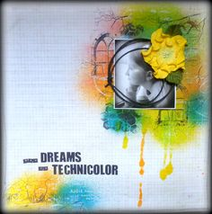 She Dreams in Technicolor - Scrapbook.com