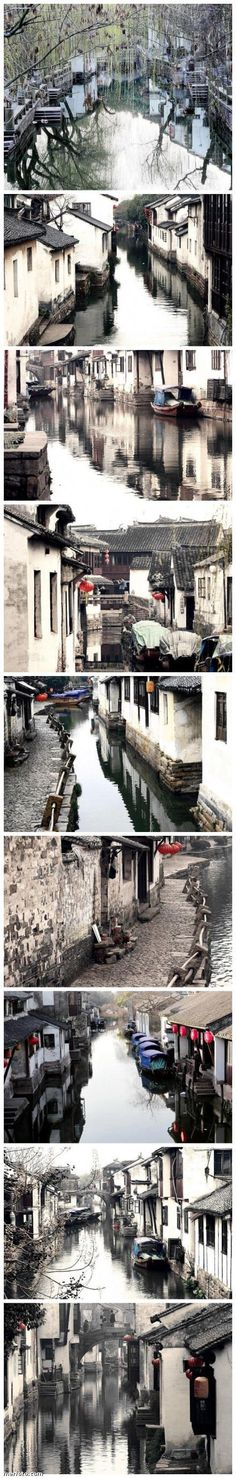 Small town in southern China. Love this beauty.