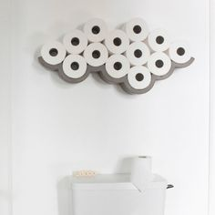 Fancy - CLOUD Toilet Paper Storage
