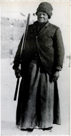 This former slave was the 1st black woman delivering letters & packages in America's Old West.         Mary Fields, born in 1832, in Hickma...