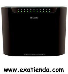 Ya disponible ROUTER DLINK DSL 3580L AC  (por sólo 113.48 € IVA incluído):   - Router Cloud Wi-Fi Wireless AC1200 Dual-Band Gigabit ADSL2+, con todo lo necesario para trasladar la experiencia de usuario a otro nivel, tanto en lo que respecta a la velocidad WiFi (1200 Mbps por los 300 Mbps del actual WiFi N) y cobertura extendida, como en la conexión por cable a 1 Gigabit y gestión avanzada de red. Su espectacular rendimiento inalámbrico permite hacer frente a las neces