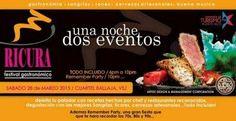 """Disfruta de """"Ricura Festival Gastronómico"""" el sábado 28 de marzo en el Cuartel Ballajá del Viejo San Juan. Boletos a la venta en Ticket Center www.tcpr.com"""
