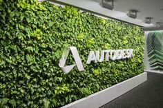 Autodesk Habitat Horticulture Living Wall - Habitat Horticulture