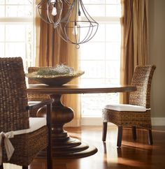 Round Pedestal Kitchen Table rh's 17th c. priory round dining table:popularized during the