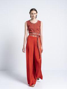 IOANNA KOURBELA PANT GENTLE FLUIDITY 20294-12873 Trousers, Pants, Unity, Greece, Jumpsuit, Dresses, Women, Fashion, Trouser Pants