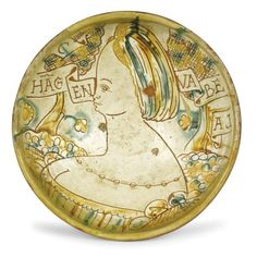 A bowl, Romagna (probably Faenza), early 16th century - Ceramica ingobbiata, [...], An Important Selection of Majolica works from private collections (Genova) à Cambi Casa d'Aste