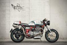 Back to Basics - Guzzi V11 Cafe Racer ~ Return of the Cafe Racers