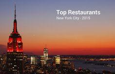Los 100 mejores restaurantes de Nueva York 2015 según la Guía Zagat