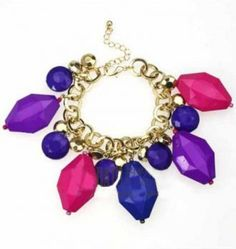 Shein Offers Colored Irregular Crystal Charm Bracelet More To Fit Your Fashionable Needs