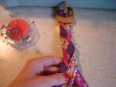Tuto : une ceinture tressée - Le blog thread&needles