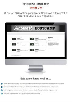 Aprenda como pode usar o Pinterest para aumentar o tráfego e Vendas do seu negócio aqui: http://membros.pinstagramguy.com/bootcampv20/