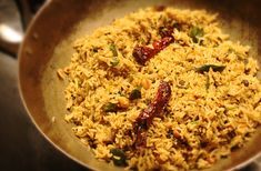 What to Do with #Leftover Rice: Tamarind Rice. #recipe