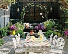 Nanette Lepore's patio