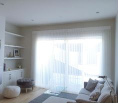 We just finished installing beautiful Luminette Privacy Sheers for our customer's patio door. The Luminette puts you in control of your natural light and privacy. Patio Blinds, House Blinds, Blinds For Windows, Patio Doors, Window Sheers, Window Wall, Large Window Coverings, Cellular Blinds, Window Toppers