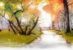 """Anne of Avonlea"" illustration by Kim Ji-Hyuk Anne Green, Anne Of Green Gables, Anne Of Avonlea, Illustrations, Illustration Art, Anne Of The Island, Book And Frame, Anne Shirley, Prince Edward Island"