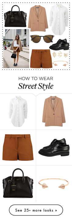 """""""Brown Street Style"""" by marvelfanatic4ever on Polyvore featuring Emilio Pucci, rag & bone, MANGO, Oliver Peoples, DKNY, Charlotte Russe and CC SKYE"""