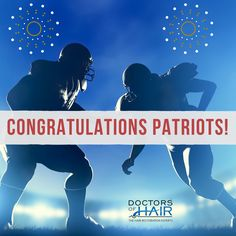 Congratulations New England Patriots 🎉 . . #Patriots #NewEngland #NewEnglandPatriots #Champions #WorldChampions #SuperBowl #SuperBowl51 #SB51 #Houston #NuMale #NuFemme #DoctorsofHair #Football #NFL #USA #GameDay #TomBrady #MVP #Congratulations