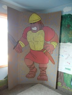 Life-size Goliath for your classroom