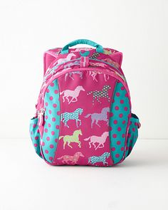 Girls HORSE Backpack~JanSport~Baroque HORSE~Andalusion/Lipizzan ...
