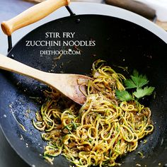 Stir Fry Zucchini Noodles (Zoodles!) Recipe | Yummly