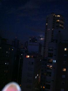 Luar (com nuvens) dia da copa 2014, São Paulo - SP