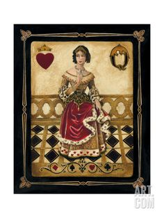 Harlequin Queen Giclee Print by Gregory Gorham at eu.art.com