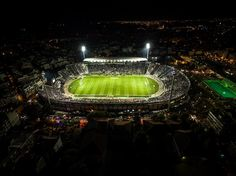 Toumba Stadium and area from air 2015 Football Stadiums, Thessaloniki, Fans, Spaces, Nice, Followers