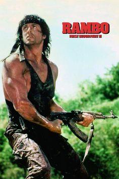 Rambo 2, John Rambo, 80s Movies, Film Movie, Sylvester Stallone Rambo, Rocky Poster, Dramas, Silvester Stallone, Demolition Man