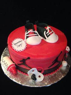 Printable Jordan Inspired Baby Shower Cupcake By LovinglyMine, $10.00.  B422b3d64bffa667c8218f8a02fe8ece (736×981)