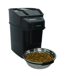 PetSafe Healthy Pet Simply Feed Automatic Cat and Dog Feeder with Stainless Steel Bowl, Holds Dry Cat and Dog Food Automatic Feeder, Food Portions, Stainless Steel Bowl, Cat Feeder, Healthy Pets, Cat Food, Dog Food Recipes, Your Pet, Pet Supplies