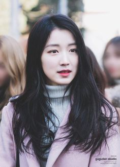 This Gugudan member joins the ranks of cold beauties — Koreaboo