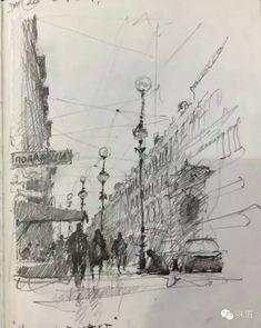 Joseph Zbukvic sketchbook - - #Street