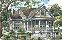 Home Plan The Downing by Donald A. Gardner Architects