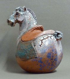Ceramics by Susanne Fraser at Studiopottery.co.uk - 2012. Bright clouded spirit…