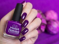 """piCture pOlish """"Violet Femme"""" http://rafinails.blogspot.ru/2014/02/picture-polish-violet-femme.html#more"""