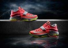KD 7 red #basketusa